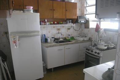 ref.: 1718 - apartamento em praia grande, no bairro boqueirao - 1 dormitórios