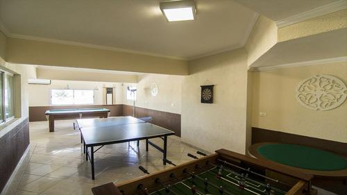 ref.: 1752 - apartamento em praia grande, no bairro vila guilhermina - 2 dormitórios