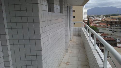 ref.: 1758 - apartamento em praia grande, no bairro vila guilhermina - 2 dormitórios
