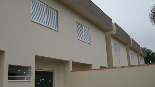 ref.: 176 - casa em itanhaém, no bairro cibratel ii - 3 dormitórios