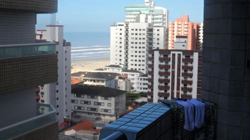 ref.: 1769 - apartamento em praia grande, no bairro vila guilhermina - 1 dormitórios
