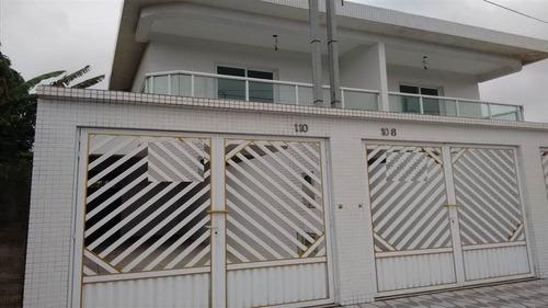ref.: 1797 - casa em praia grande, no bairro tude bastos - 2 dormitórios