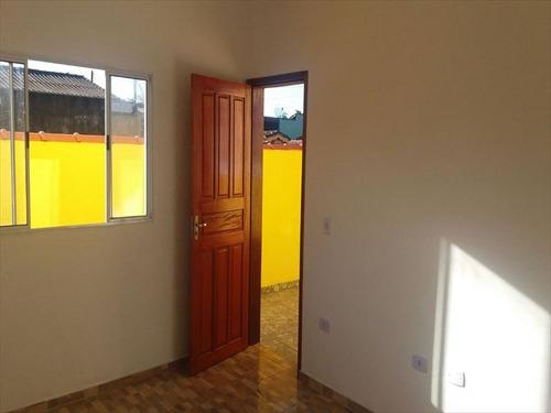 ref.: 18 - casa em mongagua, no bairro jussara - 2 dormitórios