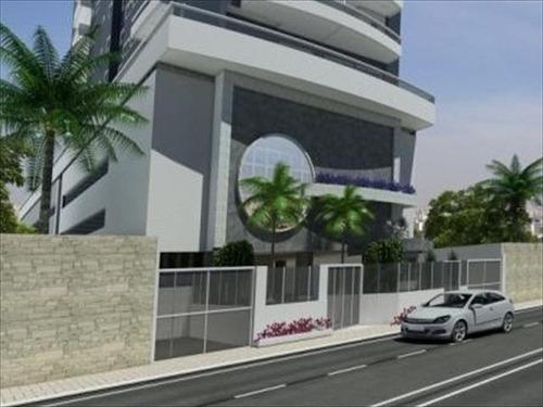 ref.: 1810 - apartamento em praia grande, no bairro tupi - 2 dormitórios