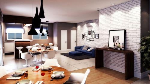 ref.: 1834 - apartamento em praia grande, no bairro vila mirim - 1 dormitórios