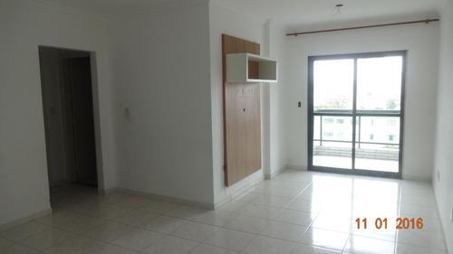 ref.: 1837 - apartamento em praia grande, no bairro boqueirao - 2 dormitórios