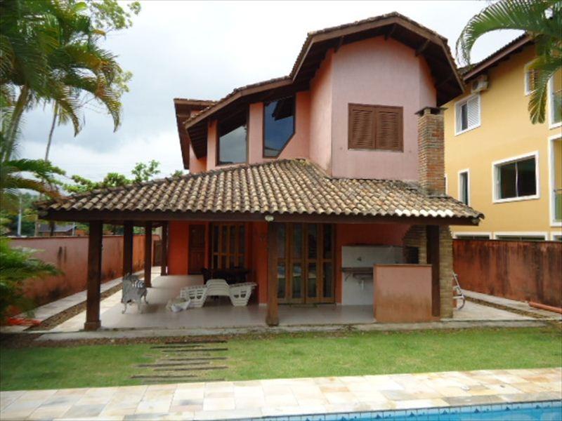 ref.: 184 - casa condomínio fechado em bertioga, no bairro hanga roa - 5 dormitórios