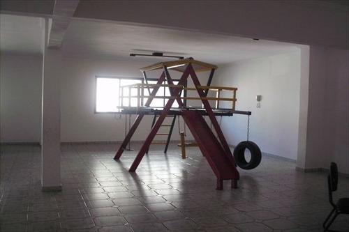 ref.: 1840 - apartamento em praia grande, no bairro canto do forte - 2 dormitórios