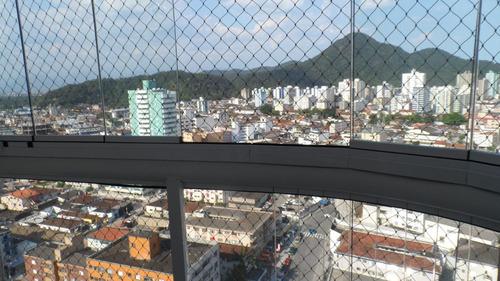 ref.: 1841 - apartamento em praia grande, no bairro boqueirao - 3 dormitórios