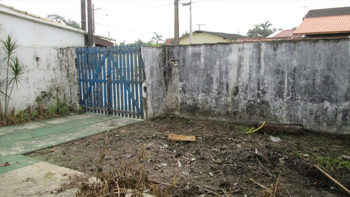 ref.: 185 - casa em itanhaém, no bairro chacara das tamaras - 2 dormitórios