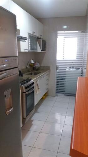 ref.: 1855 - apartamento em praia grande, no bairro vila guilhermina - 2 dormitórios