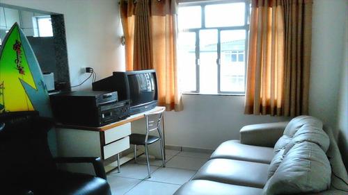 ref.: 1876 - apartamento em praia grande, no bairro vila guilhermina - 1 dormitórios