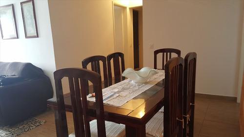 ref.: 1885 - apartamento em praia grande, no bairro vila guilhermina - 2 dormitórios