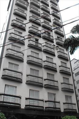 ref.: 1890 - apartamento em praia grande, no bairro boqueirao - 2 dormitórios