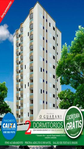 ref.: 1892 - apartamento em praia grande, no bairro cidade ocian - 2 dormitórios