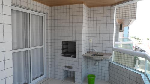 ref.: 1895 - apartamento em praia grande, no bairro vila guilhermina - 2 dormitórios