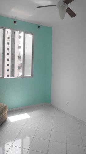 ref.: 1897 - apartamento em praia grande, no bairro boqueirao - 1 dormitórios