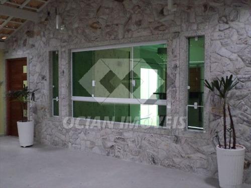 ref.: 190 - casa em praia grande, no bairro caicara - 3 dormitórios
