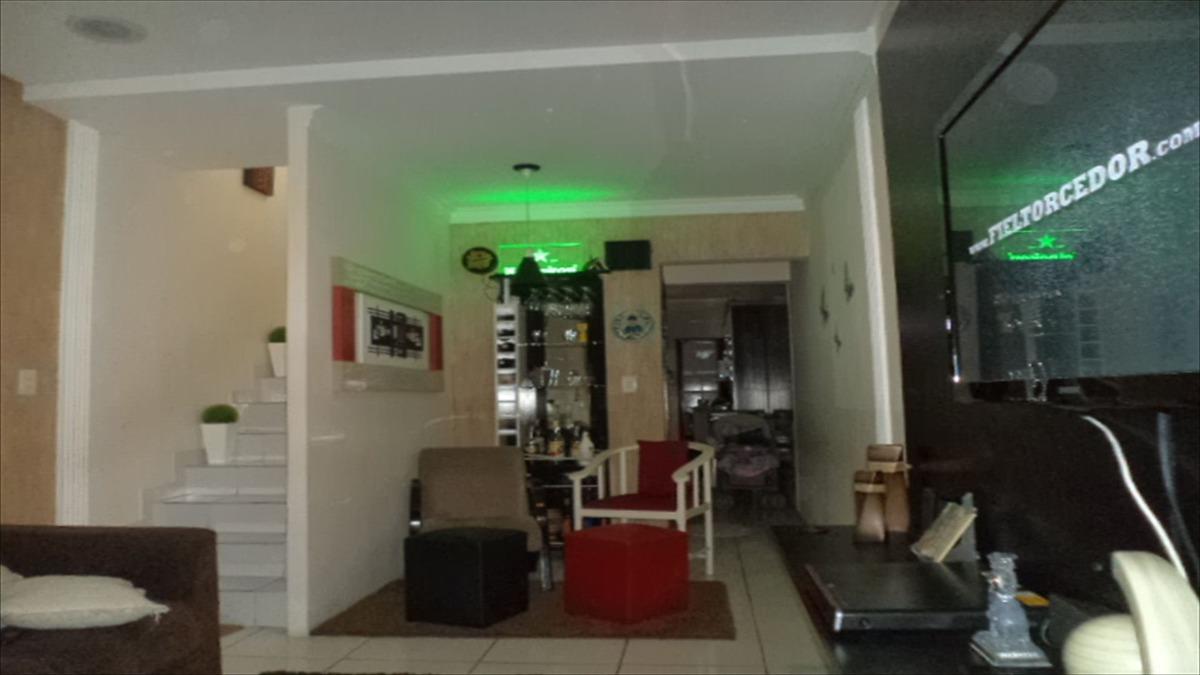 ref.: 190 - casa em praia grande, no bairro guilhermina - 2 dormitórios