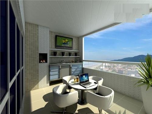 ref.: 1900011801 - apartamento em praia grande, no bairro caicara - 3 dormitórios
