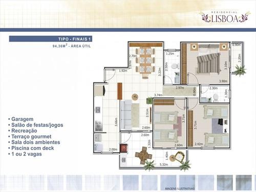 ref.: 1900012201 - apartamento em praia grande, no bairro ocian - 3 dormitórios