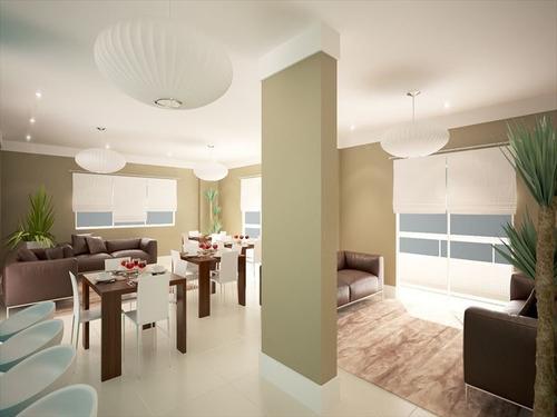 ref.: 1900013901 - apartamento em praia grande, no bairro caicara - 2 dormitórios