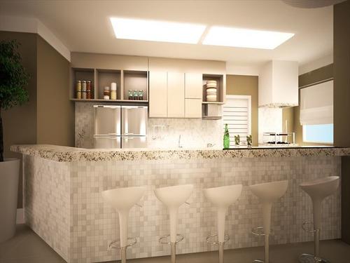 ref.: 1900014001 - apartamento em praia grande, no bairro caicara - 2 dormitórios