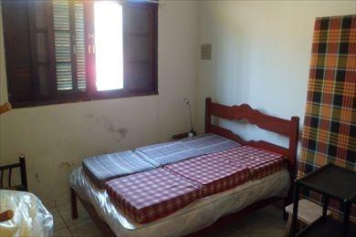 ref.: 190400 - casa em mongaguá, no bairro bal. itaóca - 2 dormitórios