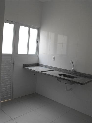 ref.: 1906 - casa condomínio fechado em praia grande, no bairro sitio do campo - 2 dormitórios