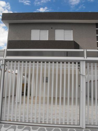ref.: 1909 - casa em praia grande, no bairro sitio do campo - 2 dormitórios