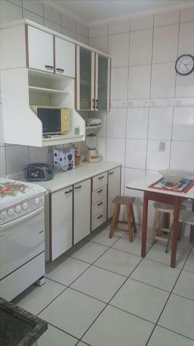 ref.: 1913 - apartamento em praia grande, no bairro vila guilhermina - 1 dormitórios