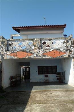 ref.: 191300 - casa em mongagua, no bairro jussara - 3 dormitórios