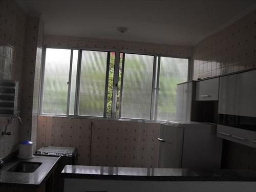 ref.: 1949 - apartamento em praia grande, no bairro guilhermina - 1 dormitórios