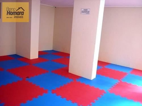 ref.: 195 - apartamento em sao paulo, no bairro santa cecilia - 2 dormitórios