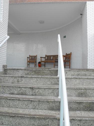 ref.: 1952 - apartamento em praia grande, no bairro guilhermina - 2 dormitórios