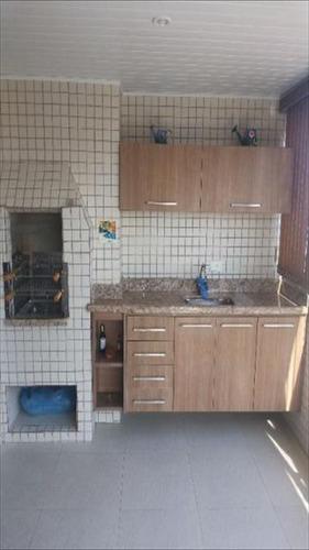 ref.: 1953 - apartamento em praia grande, no bairro boqueirao - 2 dormitórios