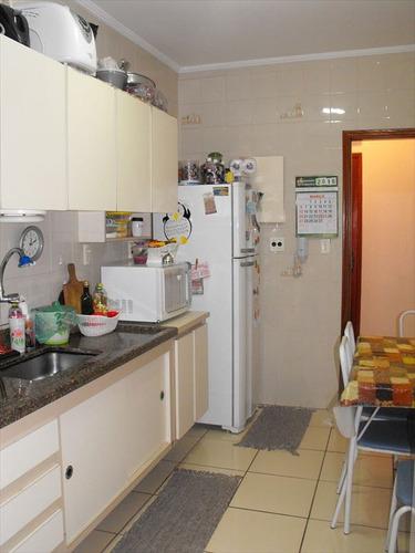 ref.: 1958 - apartamento em praia grande, no bairro boqueirao - 2 dormitórios