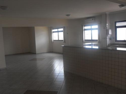 ref.: 1964 - apartamento em praia grande, no bairro guilhermina - 2 dormitórios