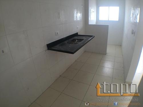 ref.: 1966 - apartamento em praia grande, no bairro guilhermina - 2 dormitórios