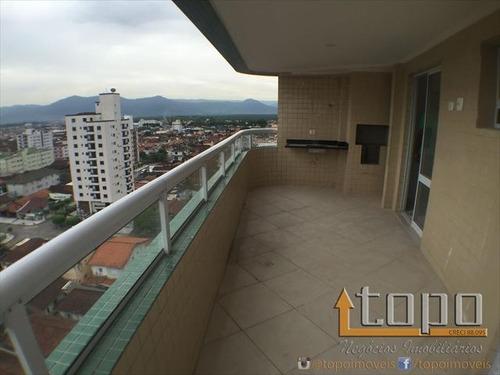 ref.: 1967 - apartamento em praia grande, no bairro guilhermina - 3 dormitórios