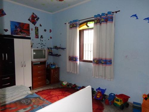 ref.: 197 - casa em praia grande, no bairro solemar - 4 dormitórios