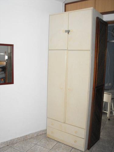 ref.: 1973 - apartamento em praia grande, no bairro boqueirao - 1 dormitórios
