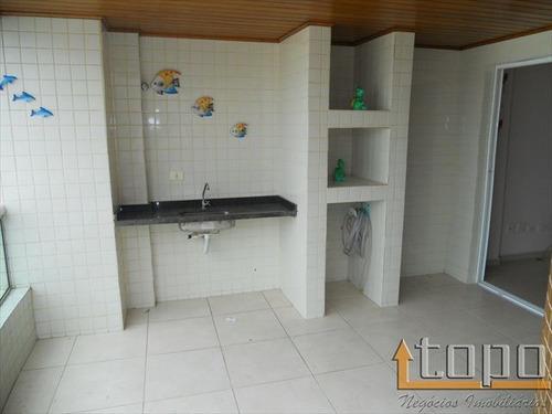 ref.: 1973 - apartamento em praia grande, no bairro guilhermina - 3 dormitórios
