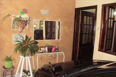 ref.: 198300 - casa condomínio fechado em praia grande, no bairro guilhermina - 2 dormitórios