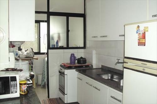 ref.: 1987 - apartamento em praia grande, no bairro boqueirao - 2 dormitórios