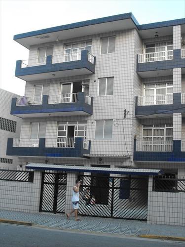 ref.: 1995 - apartamento em praia grande, no bairro boqueirao - 2 dormitórios