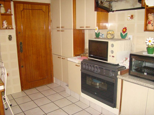 ref.: 200000 - apartamento em santos, no bairro pompéia - 3 dormitórios