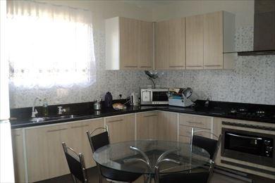 ref.: 200300 - casa em praia grande, no bairro guilhermina - 3 dormitórios