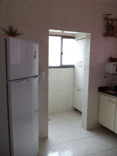 ref.: 2004 - apartamento em praia grande, no bairro forte - 1 dormitórios