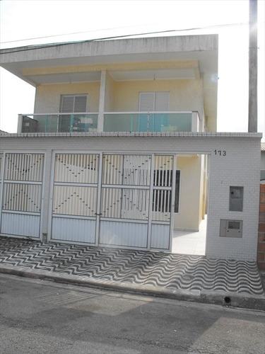 ref.: 2006 - casa em praia grande, no bairro canto do forte - 2 dormitórios